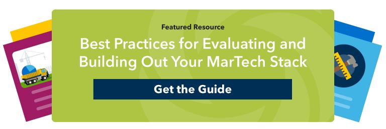 martech best practices guide