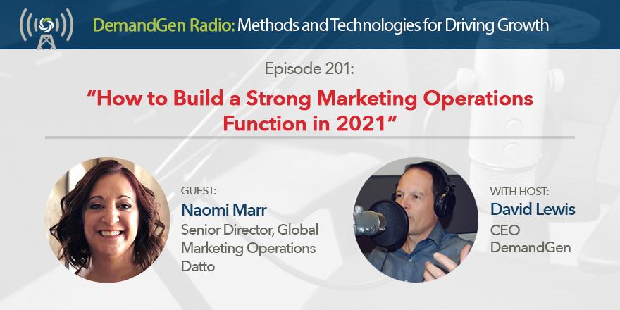 DemandGen Radio Naomi Marr